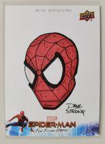 弗兰克大叔 漫威宇宙复仇者联盟成员蜘蛛侠1编1手绘插画师亲笔签字卡【请仔细阅读描述】