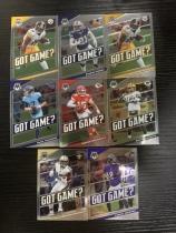 2019-20 Panini Mosaic(橄榄球)Got Game?特卡 8张打包(帕特里克.马霍姆斯、拉马尔.杰克逊、阿隆.罗杰斯)