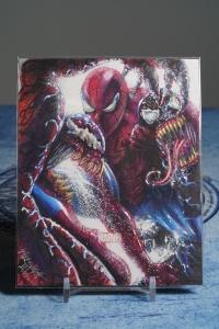 Marvel 漫威 手绘卡 大卡 AP 蜘蛛侠 毒液 屠杀 画师:Mick & Matt Glebe