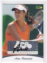 网球球星卡ACE ANA IVANOVIC 伊万诺维奇 2010 41/85