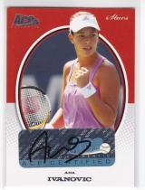 网球球星卡 ana ivanovic 阿娜 伊万诺维奇 签字卡 ace 2007 no.s10