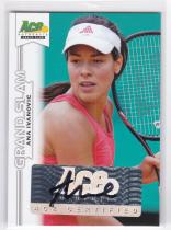 网球球星卡 阿娜 伊万诺维奇 签字卡 ace 2013 no.ba-a11
