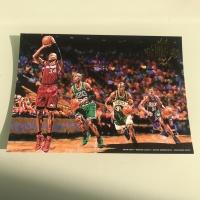 雷阿伦 5*7 油画大卡 生涯大卡 绝版大卡 2015-16 Court Kings Panini  超级经典