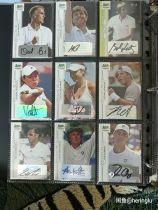 58张网球名宿签字卡打包带走