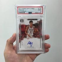 周琦 小真金 psa9 新秀 签名 99编  /99 中国篮球希望 投资佳品 收藏好物
