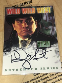 1999年 威尔 史密斯 飙风战警  罗德尼 格兰特 签字卡