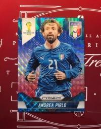 2014 panini prizm 世界杯 红白蓝 三色 折射 皮尔洛