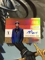 Z【QY】<<苏州卡通>> ABSOLUTE INK 新秀签名 亮面 限量/125 MIKAL BRIDGES 米卡尔·布里奇斯(品见大图)