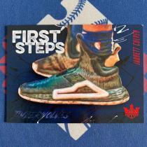 【海宝】2019-20 Panini 油画系列 森林狼 新秀RC 卡尔弗 149编 first steps 第一步 球鞋特卡 大比例【韩毅】