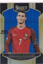 【越秀山拍卖行】足球select1617-葡萄牙总裁C罗258/299蓝折Base(理财必备)尤文皇马曼联DSDSYXS2043051