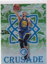 【越秀山拍卖行】篮球Excalibur16/17-勇士金州拉文库里迷彩折特卡(理财必备)DSDSYXS2043071