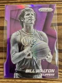 比尔沃顿 panini 2014-15 prizm 异形切割紫色折射139编 快船队球衣 bill walton 传奇巨星 实卡漂亮 少见请勿错过 请看描述