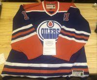 19-20 UD UDA Threads 马克·梅西耶 Mark Messier 埃德蒙顿油工队 复古签名球衣 UDA 原盒 NHL 传奇超巨 6夺斯坦利杯