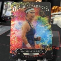 2020 UD 古德温 Goodwin系列 网球名将 多米尼卡 齐布尔科娃 3D特卡 专收必备