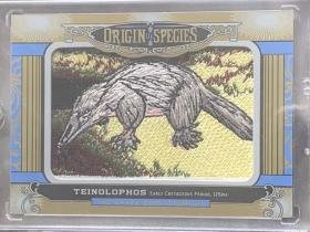 2016 古德温 物种起源 刺绣 OS 205 teinolophos 硬齿鸭嘴兽科动物 大比例 凑套必备