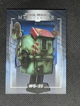 2020 topps STAR WARS星球大战MASTERWORK高端系列 蓝背景平行 #81 机器人WG-22 专收收藏投资 JAN553