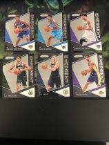 NBA2017-18赛季,帕尼尼PRIZM系列,尼克斯新秀尼利基纳,湖人新秀哈特,黄蜂新秀蒙克。。等6张新秀特卡,打包出售,卡片如图,收藏必备!