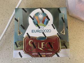 2019-20 SELECT UEFA EURO Hobby Box 欧洲杯 足球 球星卡 原箱取出原封盒 C罗 桑乔 姆巴佩 莱万 范戴克 菲利克斯
