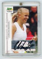 网球卡 网球美女 沃兹尼亚奇 签名卡 签字卡 auto