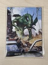 2020 漫威大师MP 银边版 二阶段限量/1499 #46 外星生物 非凡龙 专收收藏投资 MAY87