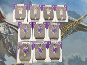 【1118】<<苏州卡通>> HOOPS 新秀 RC 普通和雪花版10张一起 国王 热迈厄斯-拉姆齐+罗伯特-伍达德二世(品见大图)