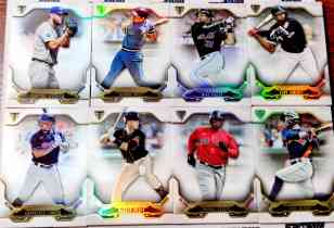 【天龙球星卡】 UNI 2020 MLB TOPPS BUNT系列 折射厚卡base打包 BRETT POSEY 共8张