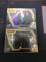 复仇者联盟 系列 美国队长 黑寡妇 银河护卫队 2张金边特卡打包 卡质量非常好 别错过