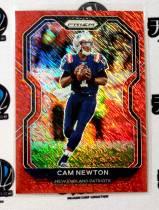 【天龙球星卡】UNI 2020-21 PRIZM 爱国者 卡姆牛顿 35编红折折射 值得收藏