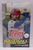 2020 Topps Update Series HOBBY Box 热门新人系列 MLB 全新未拆 原封盒卡 每盒1签字或实物博点超多 盒内附赠一银包