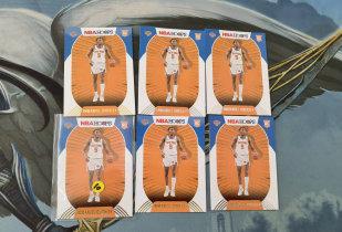 【1118】<<苏州卡通>> HOOPS 新秀 RC 普通和雪花版6张一起 IMMANUEL QUICKLEY 伊曼纽尔-奎克利(品见大图)