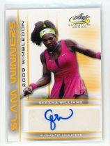 网球明星卡 小威廉姆斯 小威 签名签字卡 1编1 Leaf 2017