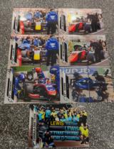 【吴江Allen拍卖】2020 topps chrome F1 base 赛车 比赛场景特卡