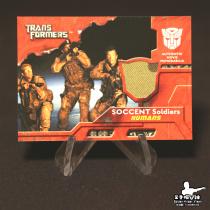 【Visen球星卡拍卖】TOPPS 2007 变形金刚 系列 电影 军人迷彩衣物切割 实物 实卡很美 凑套必备 【wmy2】