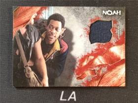 【LA拍卖】2016 Topps 行尸走肉 泰勒·詹姆斯·威廉 饰演 Noah 戏服实物卡 XWL