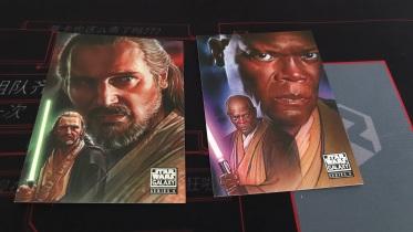 球大战 star wars 手绘风格 人物肖像 绝地武士 前传海报 2lot