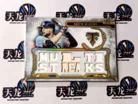 【天龙球星卡】 UNI 2020 MLB TOPPS BUNT系列 MEADOWS 36编刺绣折射球衣 值得收藏