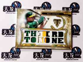 【天龙球星卡】 UNI 2020 MLB TOPPS BUNT系列 MAT CHAPMAN 9编PATCH 1/9首编 值得收藏