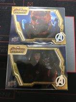 复仇者联盟 系列 奇异博士 雷神 2张金边特卡打包 卡质量非常好 别错过