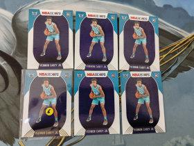【1118】<<苏州卡通>> HOOPS 新秀 RC 普通和雪花版6张一起 VERNON CAREY JR. 弗农·凯里(品见大图)