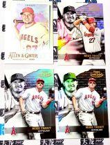 【天龙球星卡】HUI 2020 bowman MLB 洛杉矶天使 迈克特劳特 折射base 特卡 4张打包 棒球第一人