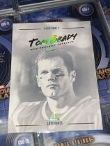 NFL 橄榄球 汤姆 布雷迪 Tom Brady 肖像特卡。选图超帅!