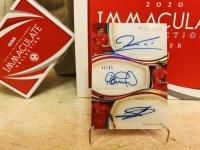 (上一份设置了自动回复原价)IMM 拜仁慕尼黑 三签 箱A 莱万多夫斯基 库蒂尼奥 阿拉巴 均完美签 17/20 卡品完好 此卡不累积