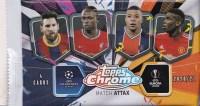20-21 Topps Chrome UEFA Match Attax 欧冠 游戏版 散包 可博 C罗 梅西 姆巴佩 哈兰德 折射 限量