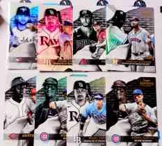 【天龙球星卡】 UNI 2020 MLB TOPPS GOLD LABEL CLASS 1 新秀折射打包 ALVAREZ GARCIA 共8张