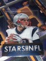 布雷迪 透明切割卡 Tom Brady NFL 橄榄球