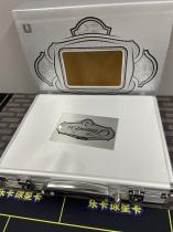【乐卡收藏官方代卖】不累计 k201 17-18 手提箱 空箱子 银色 精美 品相如图不完美 单个1支