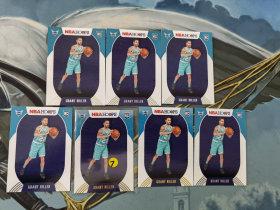 【1118】<<苏州卡通>> HOOPS 新秀 RC 普通和雪花版7张一起 GRANT RILLER 格兰特·里勒(品见大图)