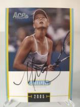 2005 ACE系列 玛利亚 莎拉波娃 sharapova 最美网球女星 卡签签字 场签 超级美少女 非常罕见 ebay高价 选图优美 专收必备 第三张 包夹