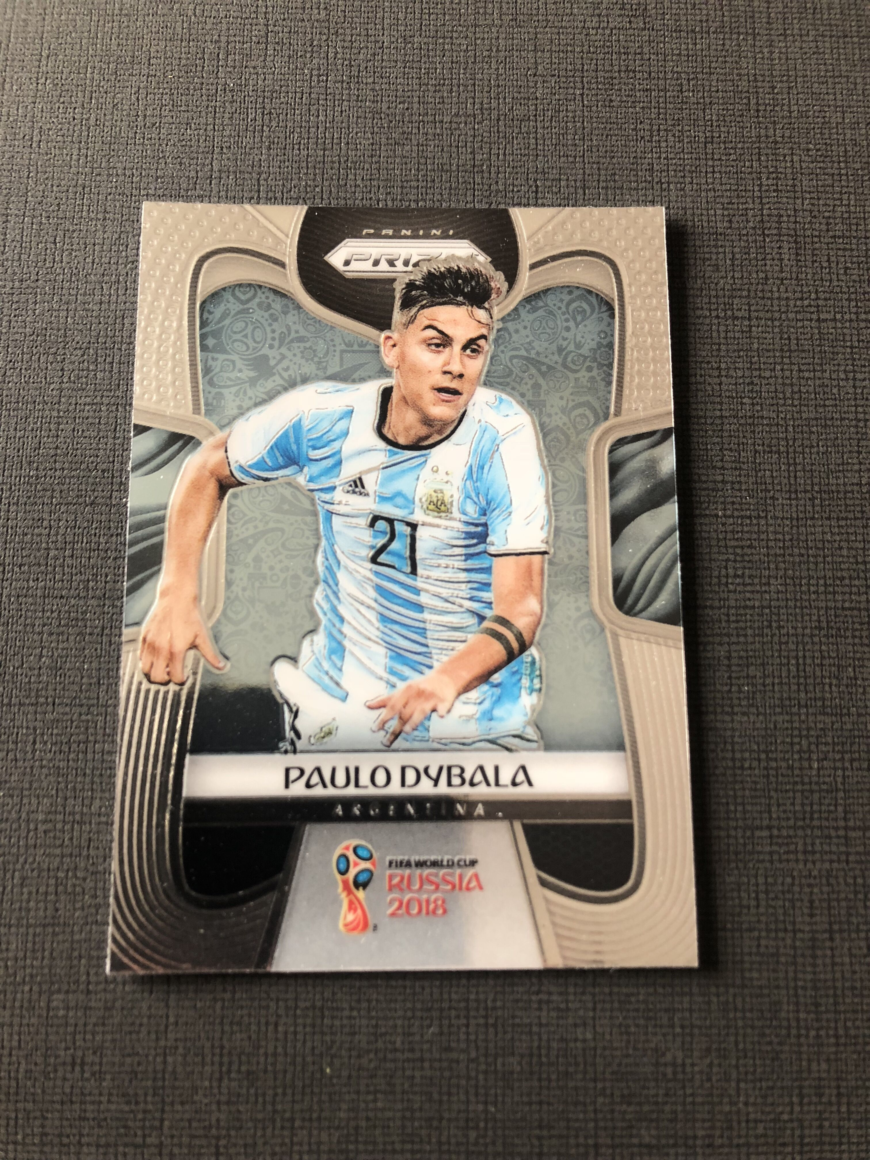 2018 prizm 世界杯 迪巴拉 阿根廷 尤文图斯 base