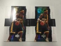 2003 UD 元年篮球高端系列 木盒普卡 超级稀有 小奥尼尔 (还有其他木盒卡上架 此标仅出售奥尼尔左边一张普卡)